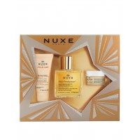 Nuxe My Dream Set Huile Prodigieuse 50ml, Reve De Miel Hand Cream 30ml, Reve De Miel Baume Levres 30ml