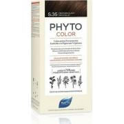Phyto Phytocolor Μόνιμη Βαφή Μαλλιών 5.35 Καστανό Ανοιχτό Σοκολατί