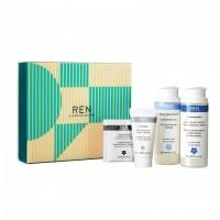 REN Skincare gift set Σετ περιποίησης προσώπου 4 προϊόντων